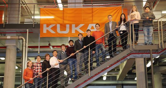 Finalists at KUKA College Gersthofen