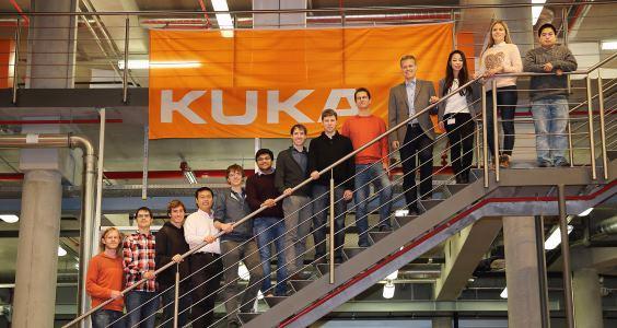 Finalists at KUKA College Gersthofen